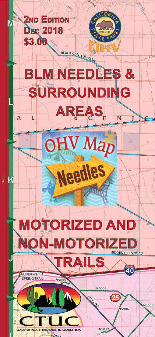 CTUC Map: Needles and Surrounding Areas