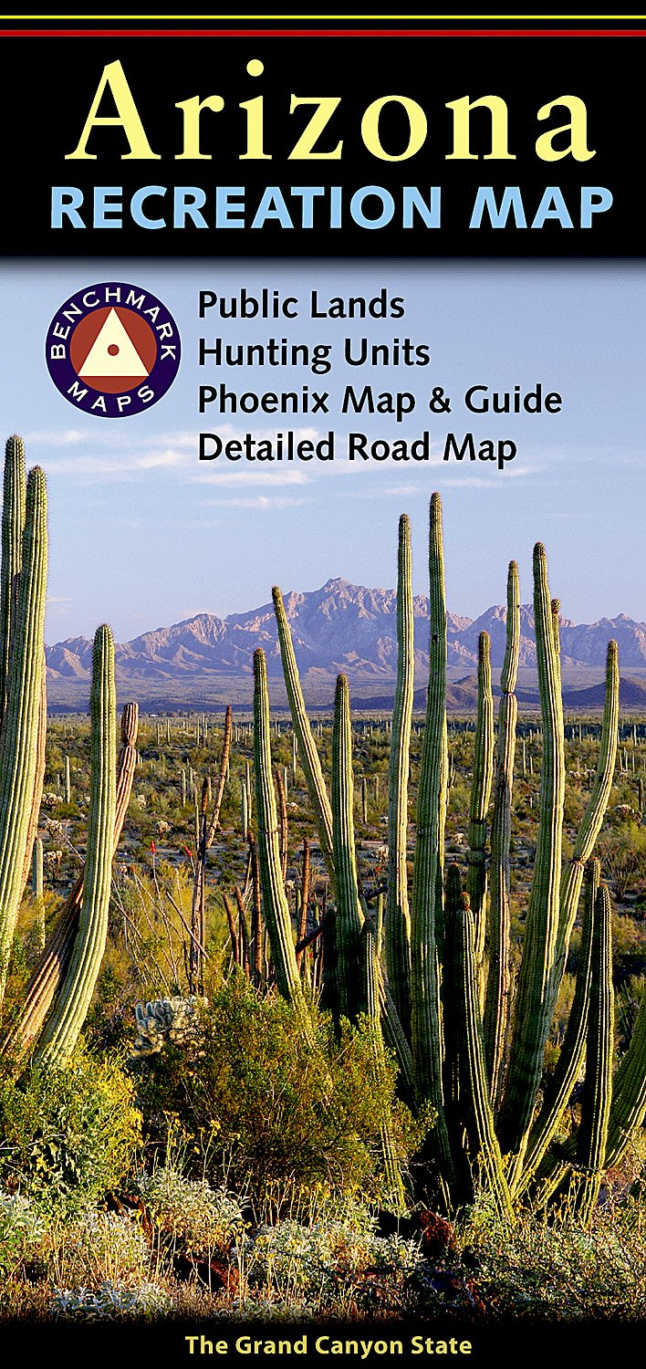 Arizona Road and Rec Map