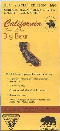 BLM: Big Bear Lake Map