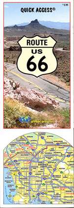 Route 66 Quick Access Map