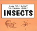 Easy Field Guide to Common Desert Insects